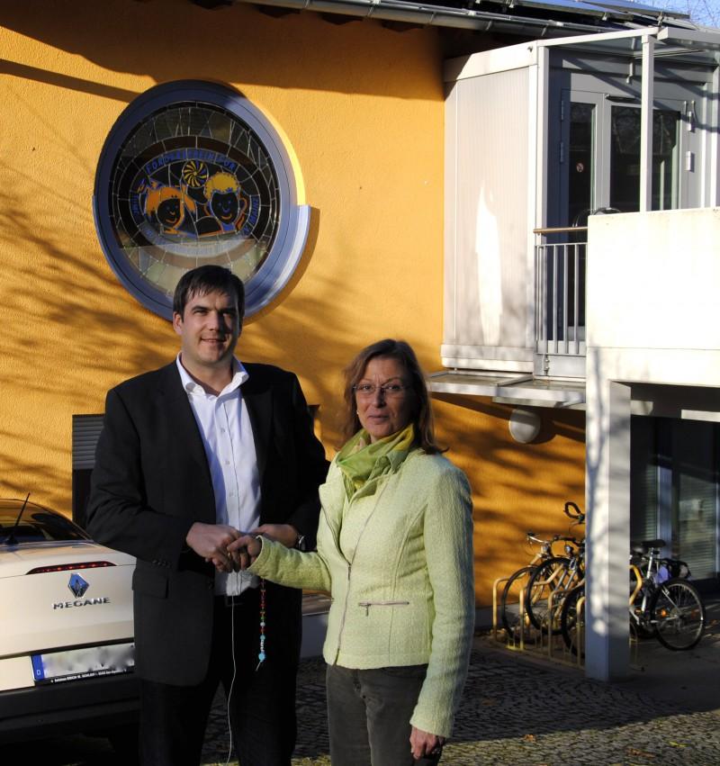 Im Namen des Fördervereins dankte Annette Spohn-Hofmann Gechäftsführer Michael Gruben